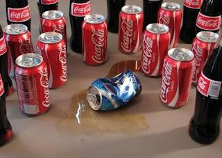 foto divertida coca-cola