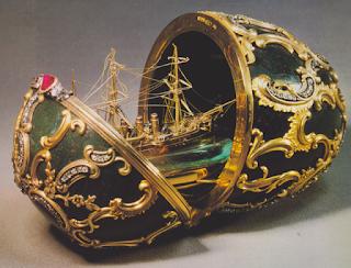 Huevo Imperial de Fabergé