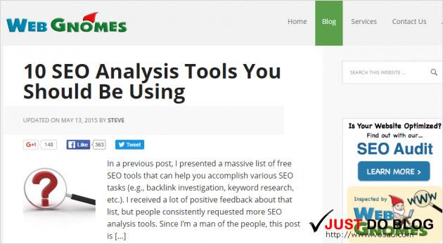 Web Gnomes blog