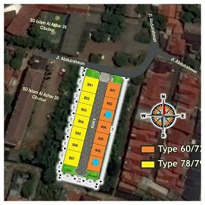 Lokasi Perumahan Syariah di Cibubur Jakarta TImur