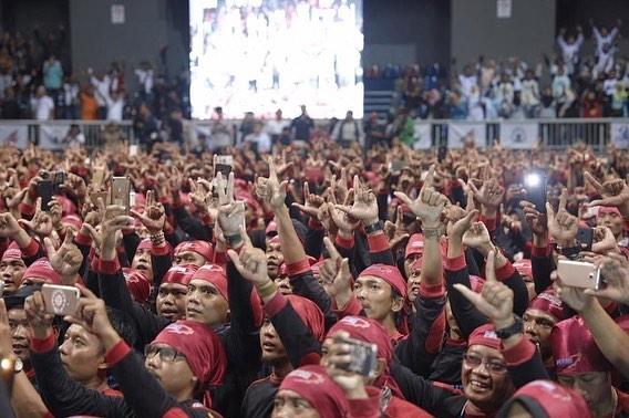 Runtuhkan Mitos Lumbung Suara PDIP, Relawan Prabowo Gelar Konsolidasi di Jateng