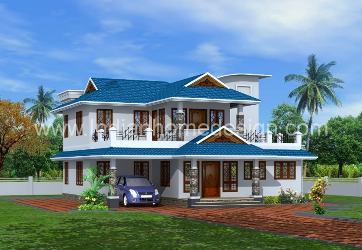 Luxurious Kerala House Design By Tenth Home Designers