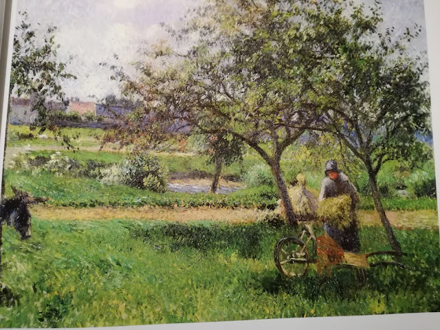 Camille Pissarro The wheelbarrow, Orchard