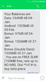 Airtel triple data plan