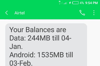 How To Activate Airtel Triple Data Offer
