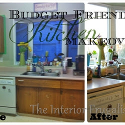 A Budget-Friendly Kitchen Update With Chalk Paint