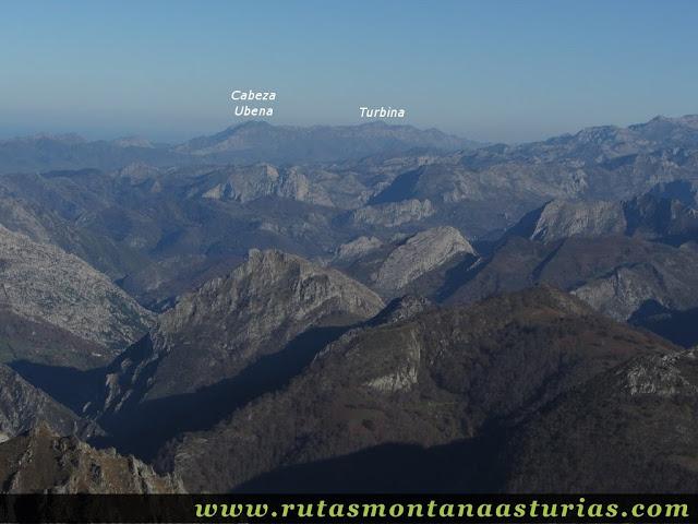 Vista de la Sierra del Cuera