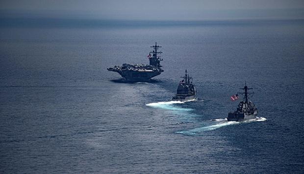 Kapal Induk Amerika Mendekat, Korea Utara Siaga Perang