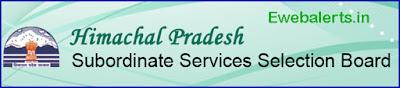HPSSSB Hamirpur Recruitment