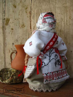 Народная кукла-оберег Купчиха (Успешница). Мастер-класс
