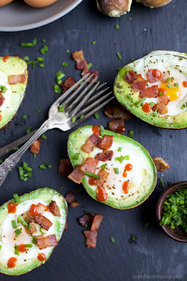 The BEST Low-Carb Breakfasts with Avocado featured for Low-Carb Recipe Love on KalynsKitchen.com