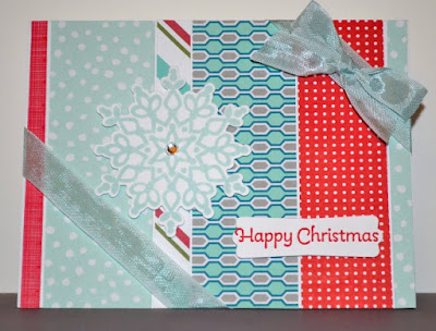 CHristmas cards, Stampin Up, Trude Thoman, Stamp with Trude, Throwback Thursday, scrappy crafts, scraps, Beyond the Basics