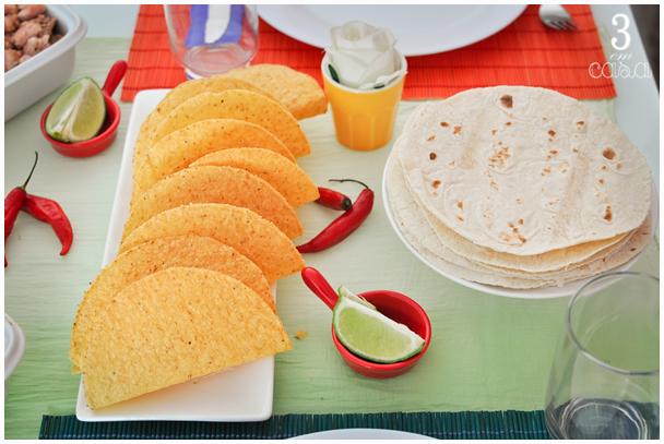 decoração jantar mexicano