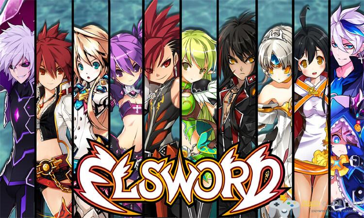 تحميل لعبة Elsword للاندرويد برابط مباشر مجانا