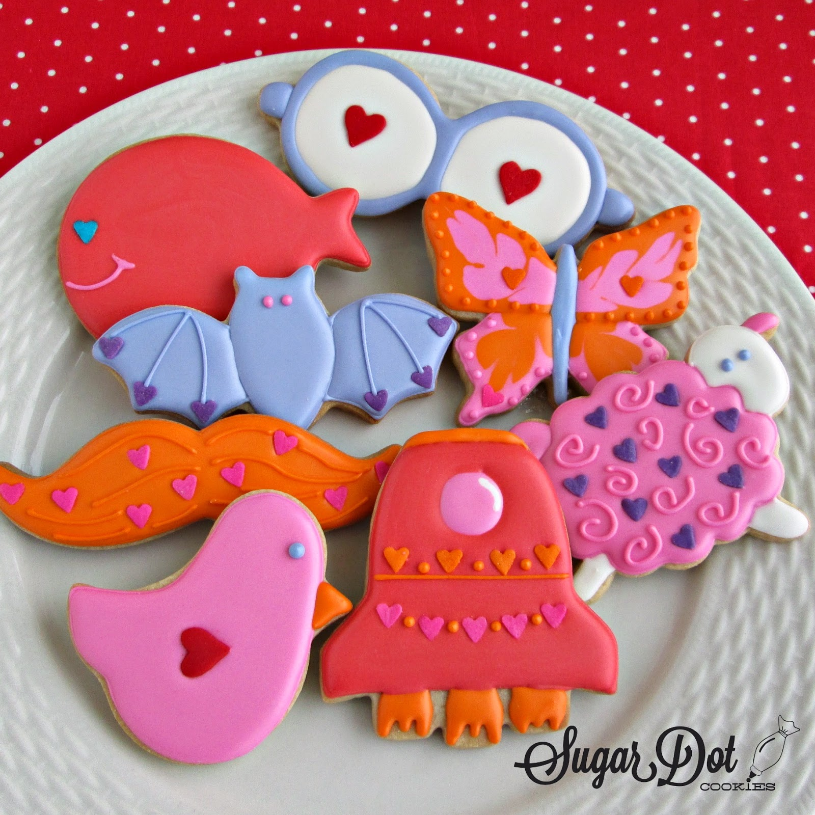 Join me for a cookie decorating party! We'll be decorating ...