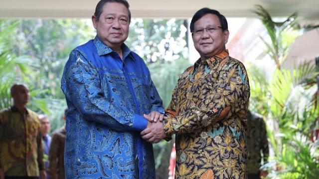 SBY Siap Kampanyekan Prabowo, Demokrat: Jokowi akan Kalah