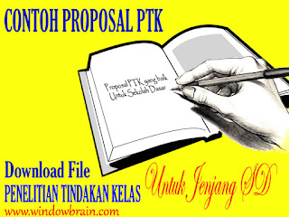 CONTOH PROPOSAL PENELITIAN TINDAKAN KELAS ( PROPOSAL PTK) SD - DOWNLOAD FILE