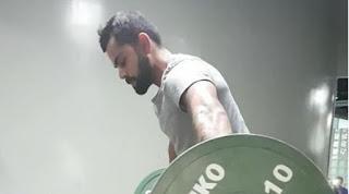 Virat Kohli Gym