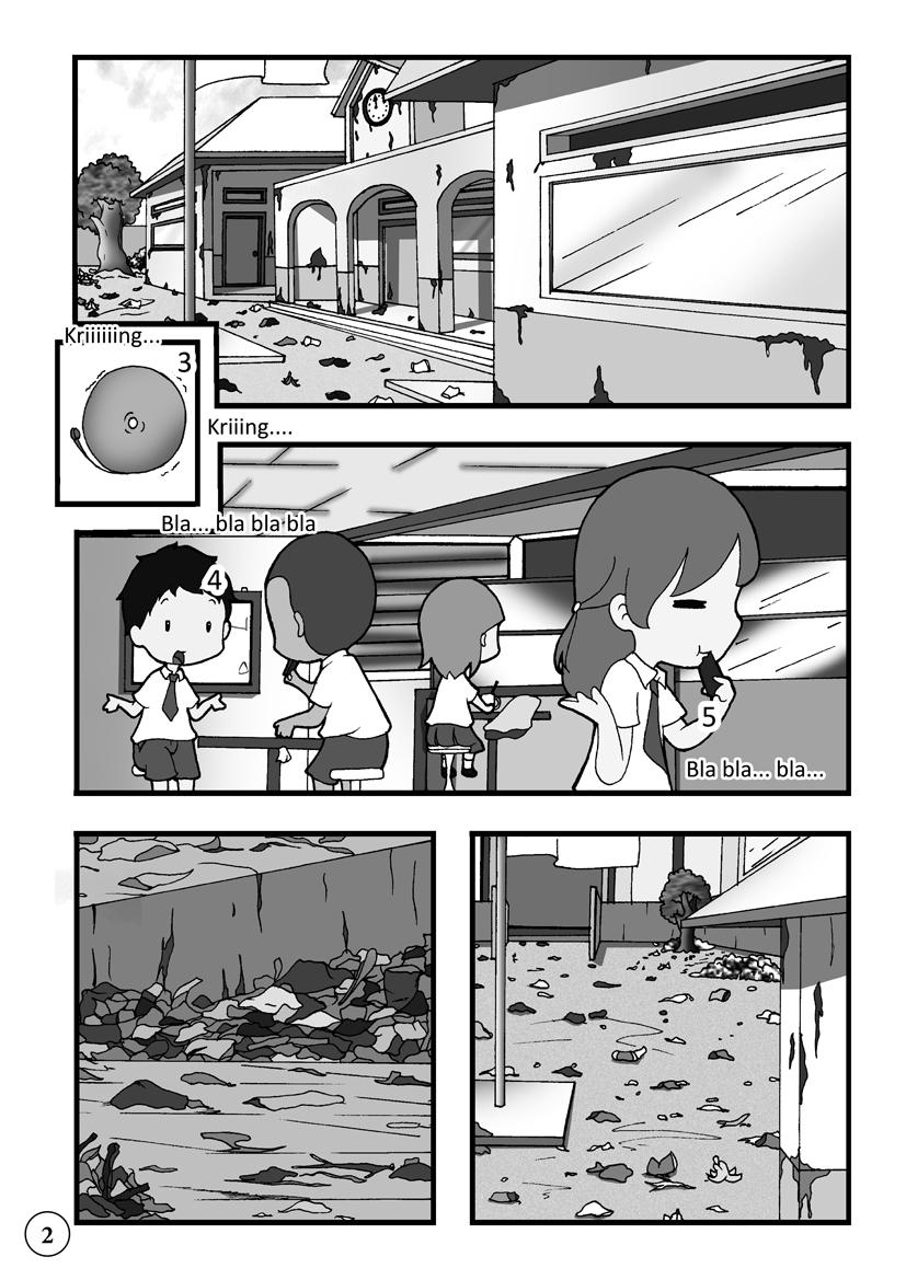 Contoh Gambar Ilustrasi Tentang Kebersihan Iluszi