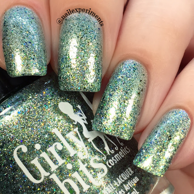 girly bits polish pick up september 2017 chrysalis swatch