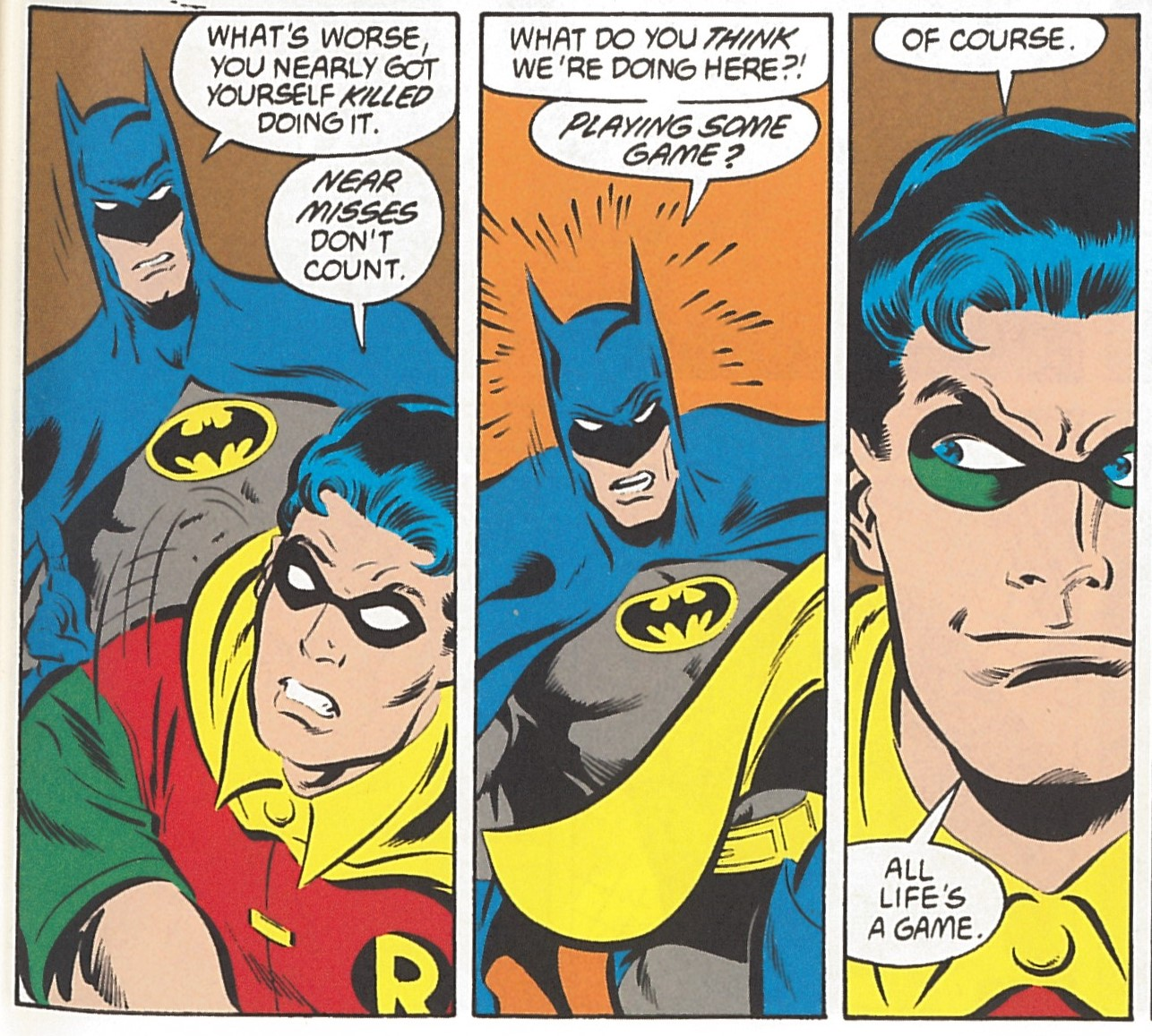 Fashion of the bat an extremely thorough examination of batman s - Your Hero Ladies And Gentlemen Or Don T You Think Kids Who Are Little Bit Snotty Deserve To Be Brutally Murdered From Batman Vol