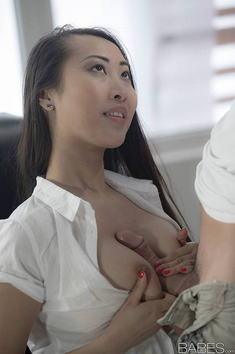 tit Asian nice