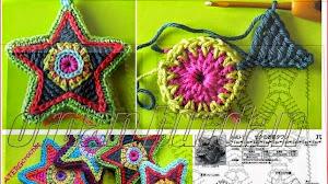 Hermosa estrella al crochet