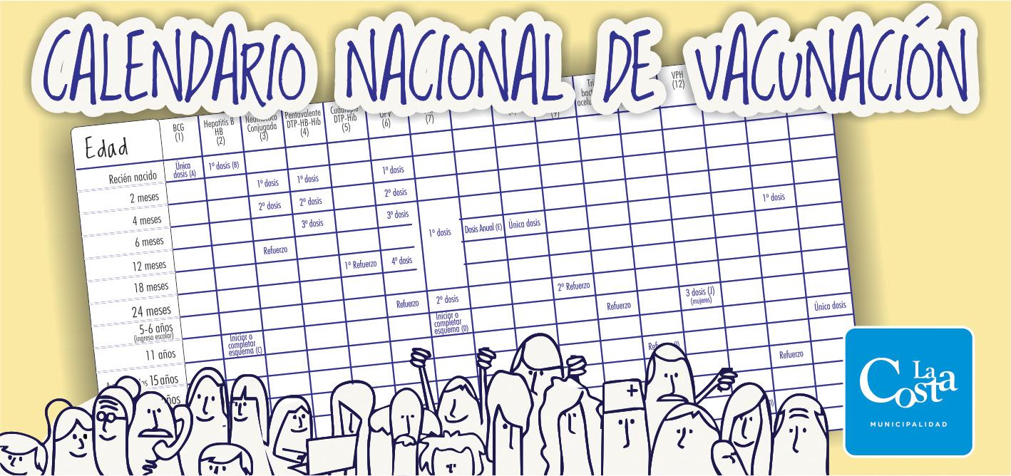 ... PARA COMPLETAR EL ESQUEMA DE VACUNACIÓN | Municipalidad de La Costa