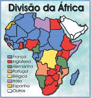 Resultado de imagem para mapa tipologia das Independências africanas