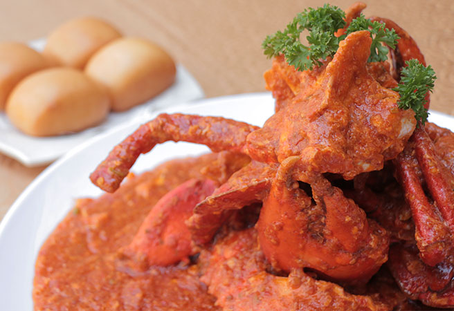 Sambal Chilli Crab