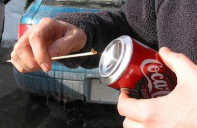 Crear un Hornillo con una Lata de Coca-Cola
