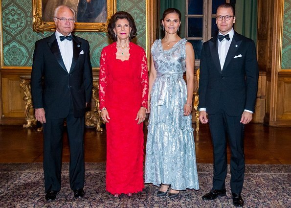 Crown Princess Victoria wore HM dress