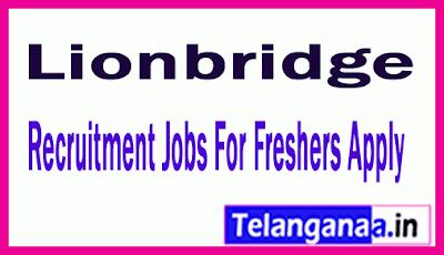 Lionbridge Recruitment Jobs For Freshers Apply