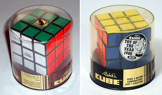 Rubik's Cube - Toy of the year 1980-81
