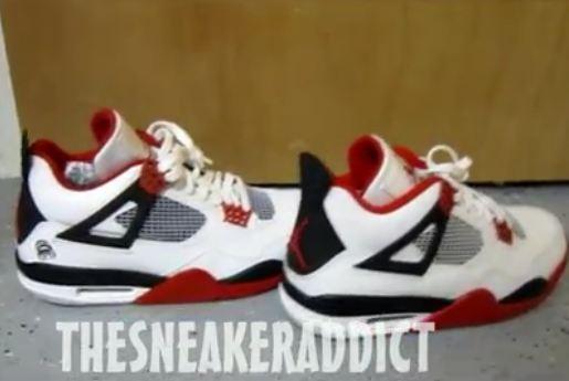 4fcca376a0afbb 2012 Air Jordan Varisity 4   Mars Blackmon IV Sneaker Comparison