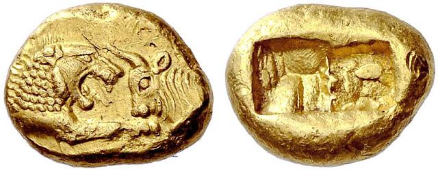 primeras monedas de la historia