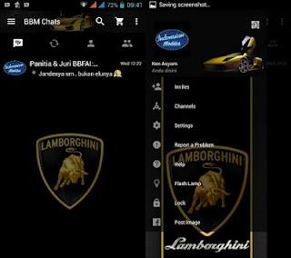 download bbm mod lamborghini