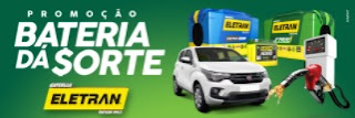 Promoção Baterias Eletran 2017 Bateria dá Sorte