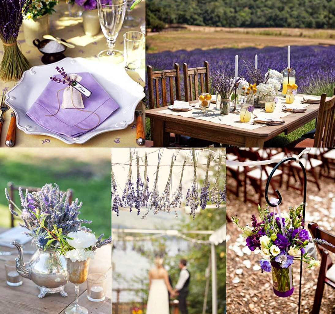 "Mood Board Lavender Wedding Decoration: THE HOME OF MY DREAMS: ""SE MI SPOSASSI ORA"""