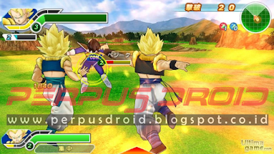 Download Dragon Ball Z Tenkaichi Tag Team ISO CSO PPSSPP Android