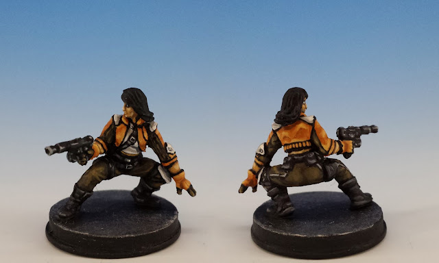 Jyn Odan, Imperial Assault FFG (2014, sculpted by Benjamin Maillet)