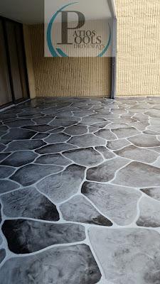 #decorativeconcrete #decorativeoverlay #patiodeck #concrete