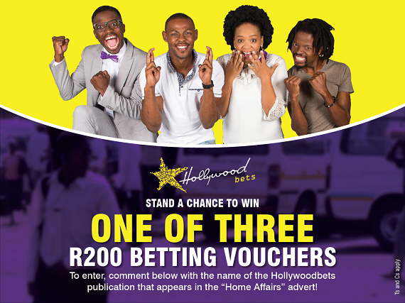 YES! Promotion: Win one of three R200 Betting Vouchers