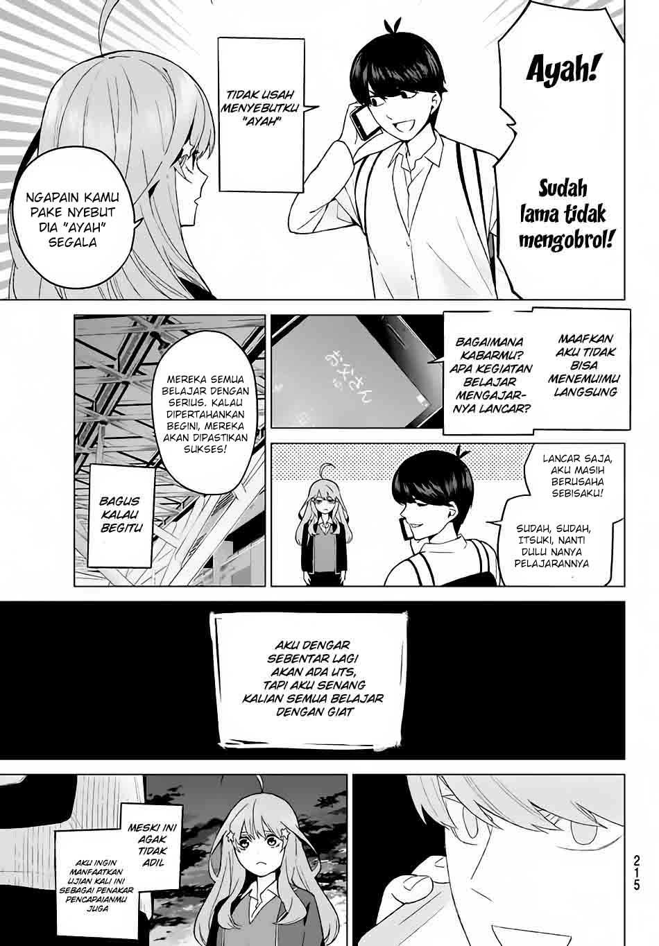 Baca Manga Go-Toubun No Hanayome Chapter 15 Bahasa Indonesia