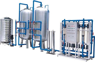 Work Process of Water Treatment Equipments System