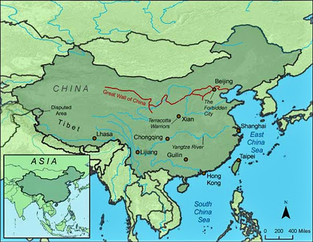 the-great-wall-of-china-on-map