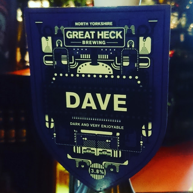 Dave from Great Heck Brewing craft beer real ale pump clip