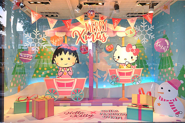 DSC08298 - 台中聖誕節活動│小丸子 hello kitty摩天輪與聖誕村造景就在台中新光三越搶先看