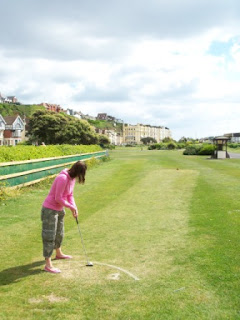 Mini Golf Grass Putting Course in St Leonards, East Sussex