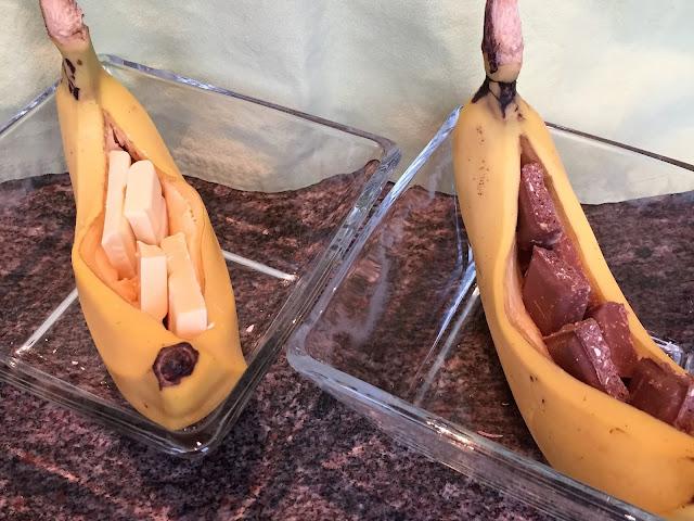 Schokoladenbananen